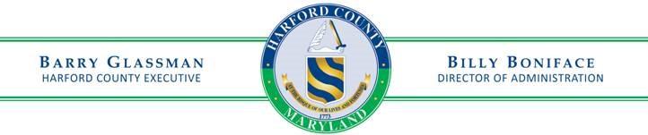 Barry Glassman Harford County Seal
