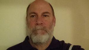 Rich Bennett before shaving