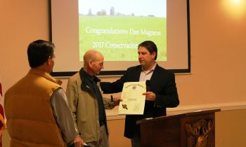 Harford Land Trust honors Dan Magness with Conservation Award at 2017 Annual Meeting