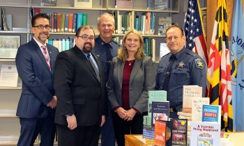 Harford County Child Advocacy Center Donates Books, DVDs to Harford County Public Library