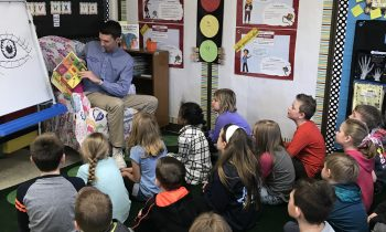 National FFA Organization President Visits North Harford High School and North Harford Elementary School During National Agriculture Week