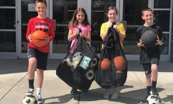 Harford County Public Schools Supports the Humane Society of Harford County with 'Balls for Dogs'